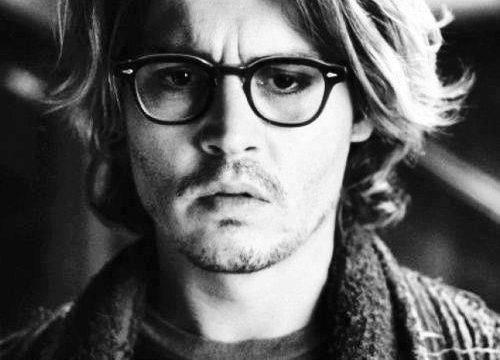 Johnny Depp y moscot