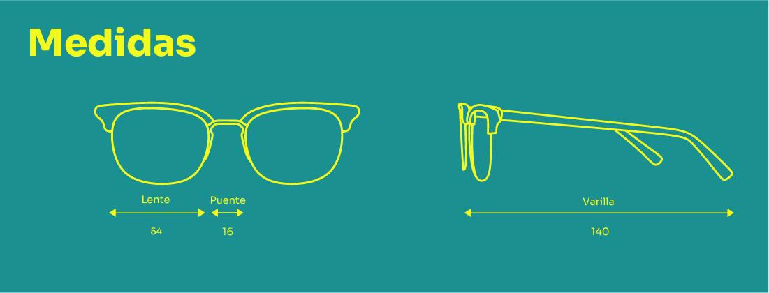 medidas-de-gafas-graduadas-edición-limitada-sunshine-Samas